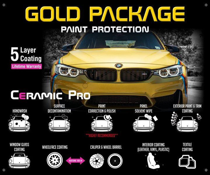 Ceramic Pro Orlando Gold Package