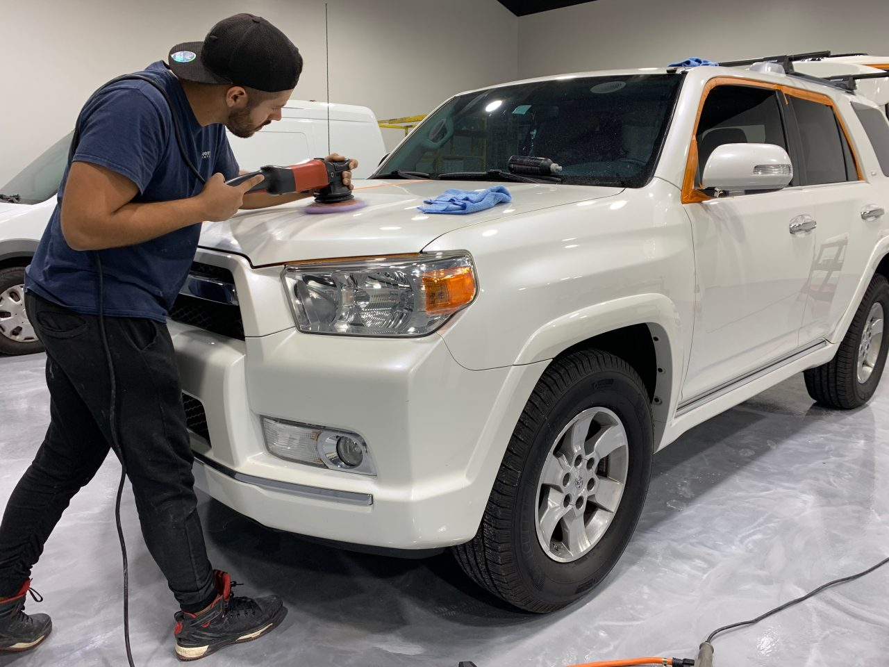 Ceramic Paint Coating Orlando Toyota 4Runner