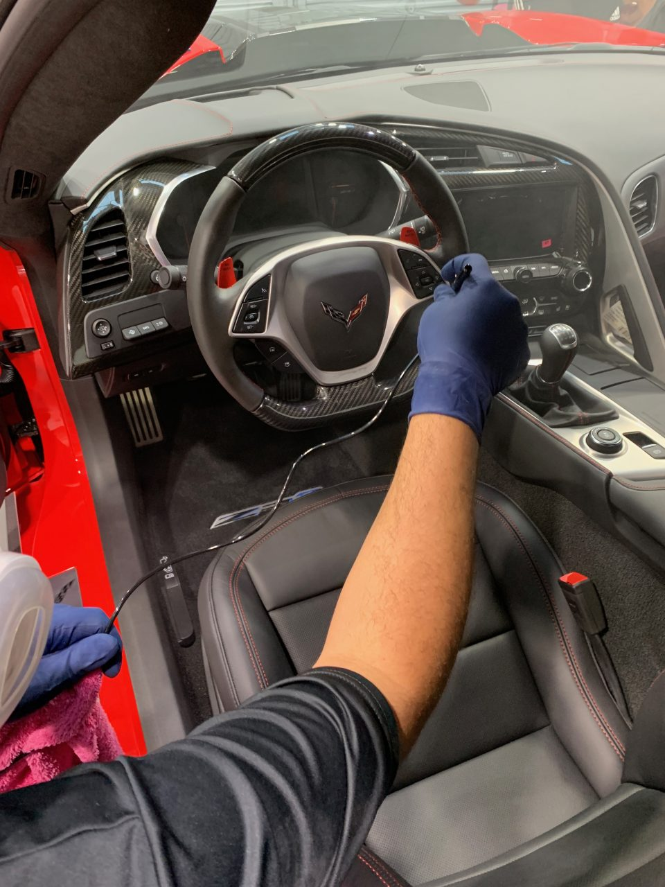 Ceramic Coating Protection for Interior of Car