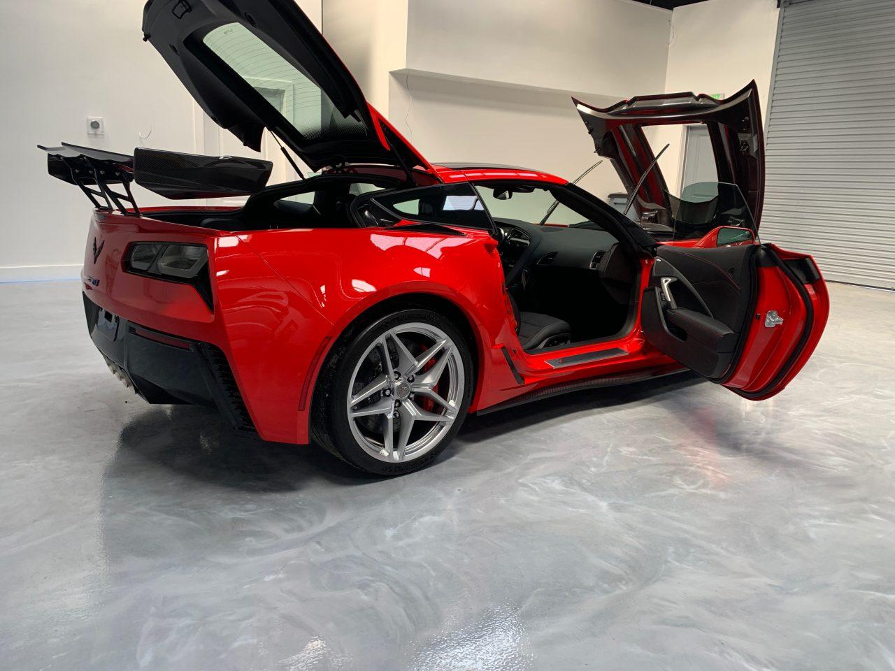 Ceramic Pro Orlando - Corvette ZR1 Ceramic Coating Orlando