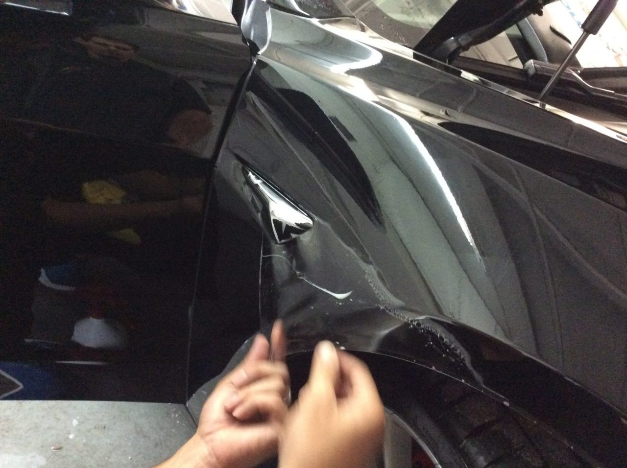 Xpel Paint Protection Tesla Model 3 Orlando PPF Clear Bra