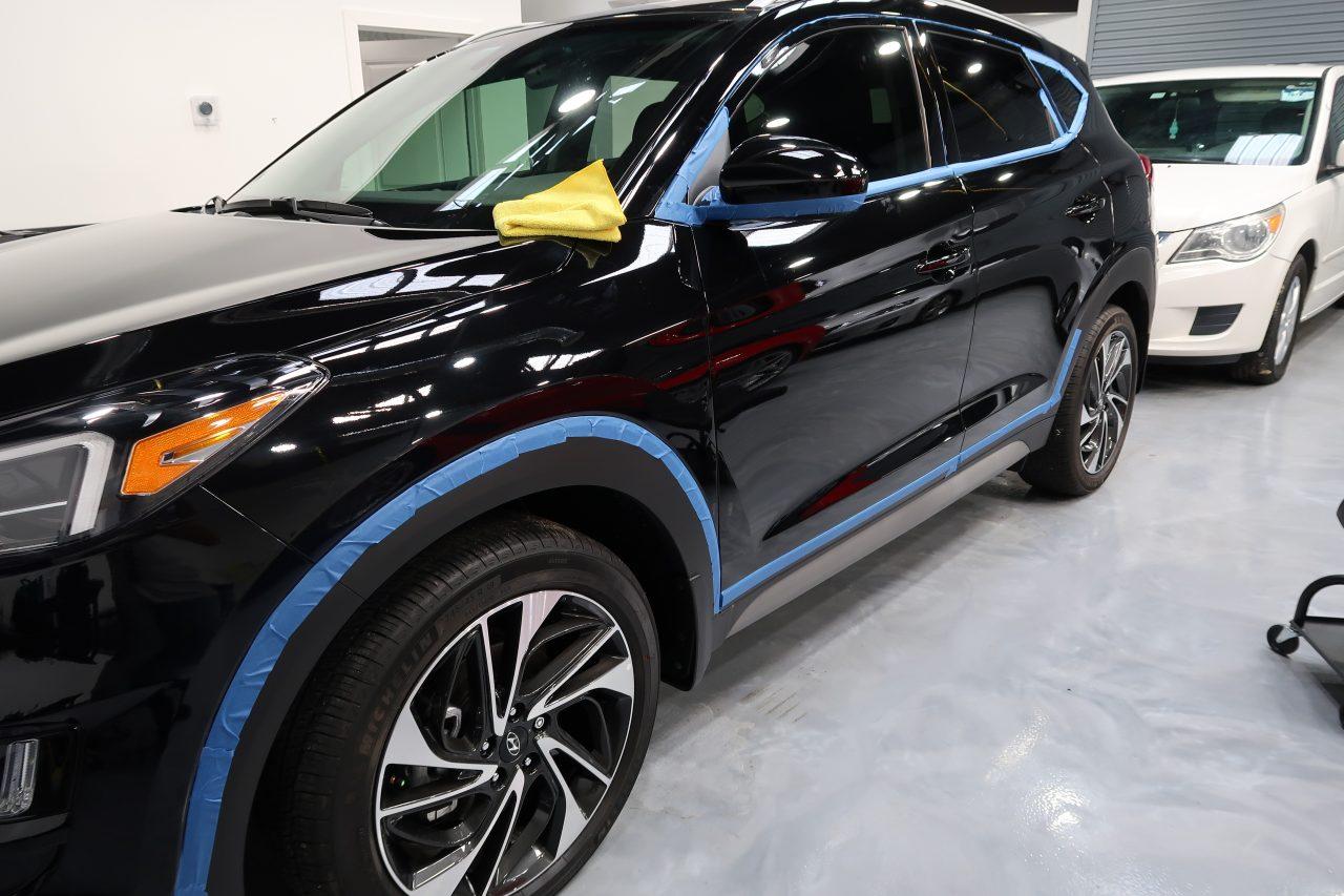 Prepping Hyundai Tucson Longwood FL Detailed