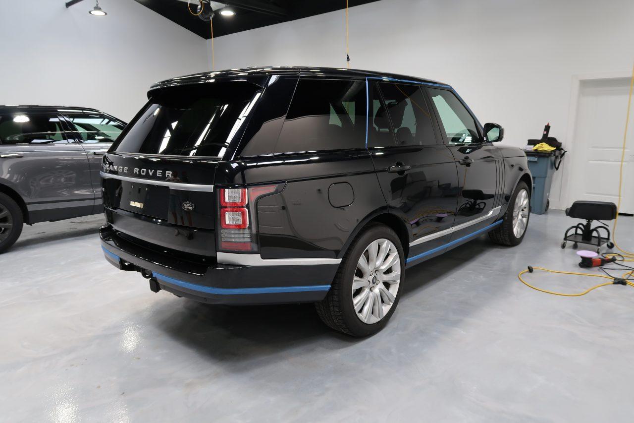 ceramic pro 9h installers Florida Range Rover