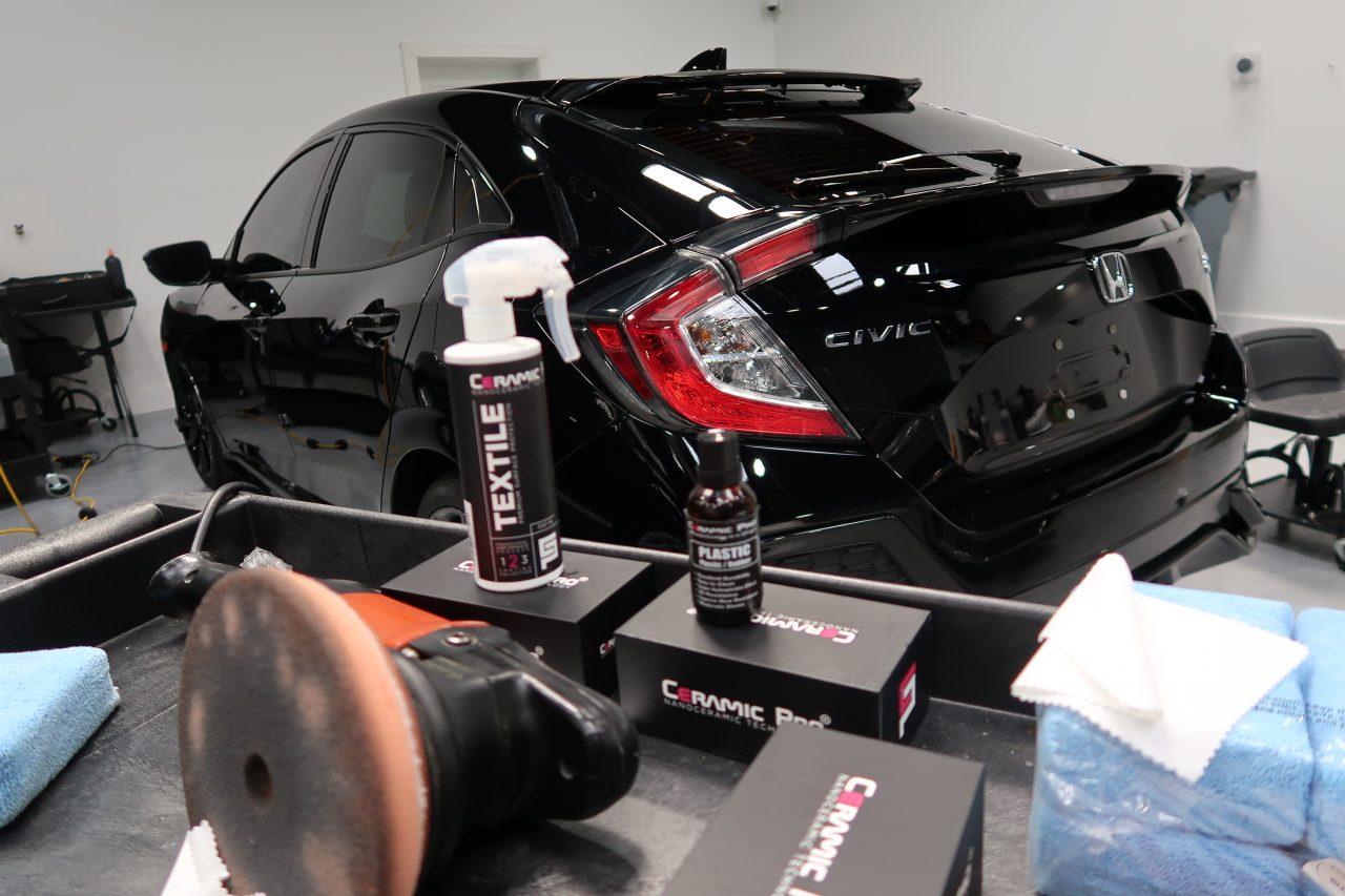 ceramic coating Orlando Honda Civic
