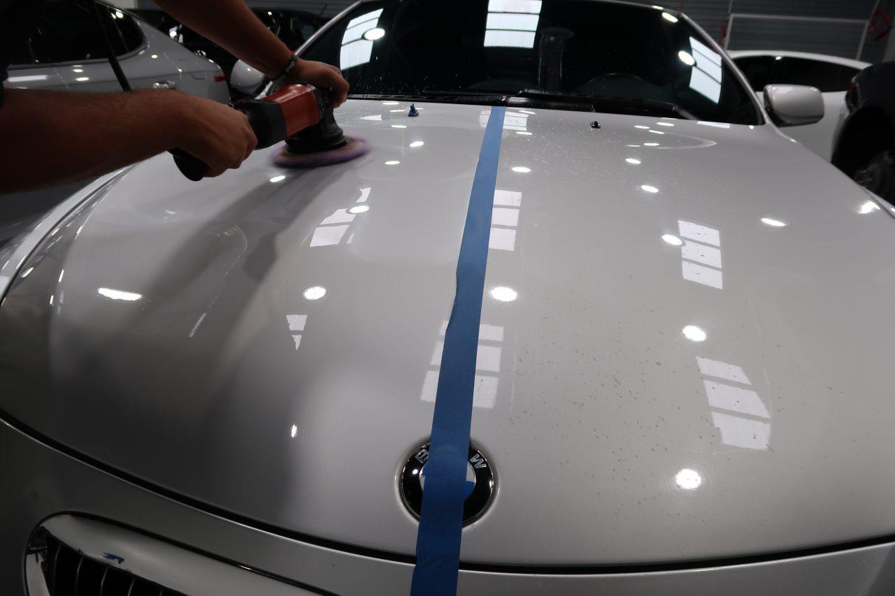 paint correction and ceramic coating