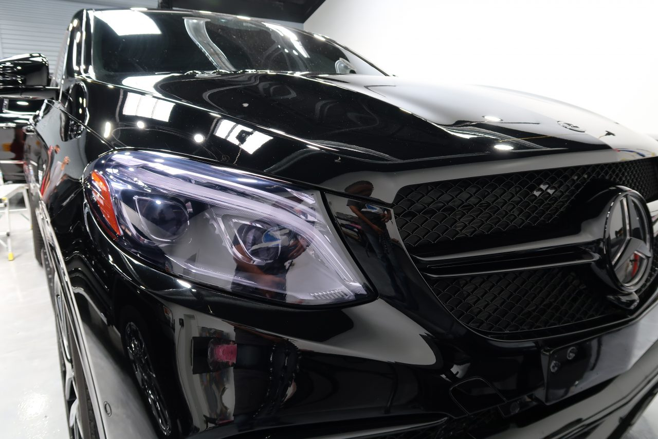 auto ceramic coating orlando Mercedes Benz AMG