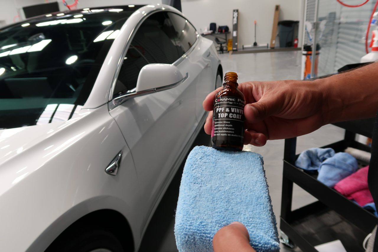 ceramic coatings and paint correction