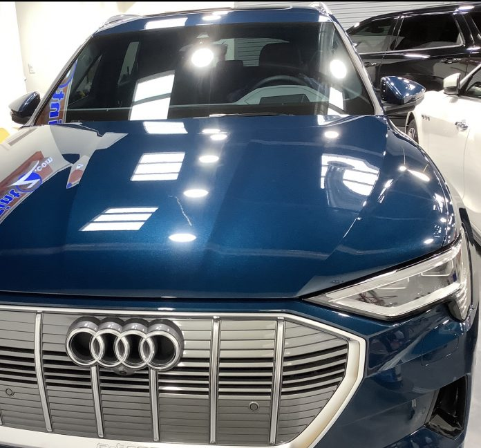 Audi Ceramic Coating e-tron Ceramic Pro